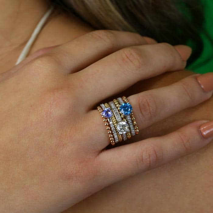 5 Creative Ways to Building a Super Stylish Ring Stack