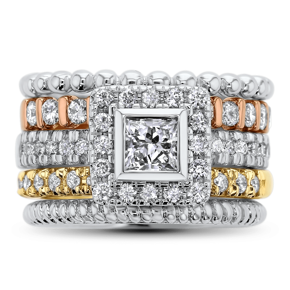 Diamond Stackable Bands